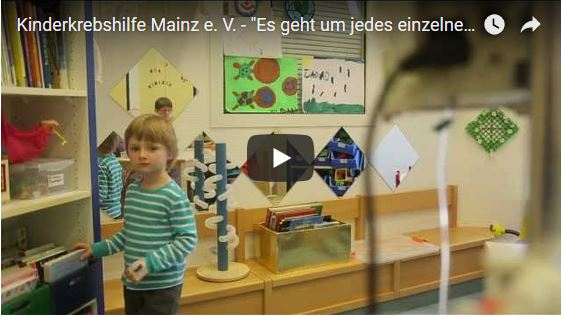 Video en Kinderkrebshilfe Mainz e.V.